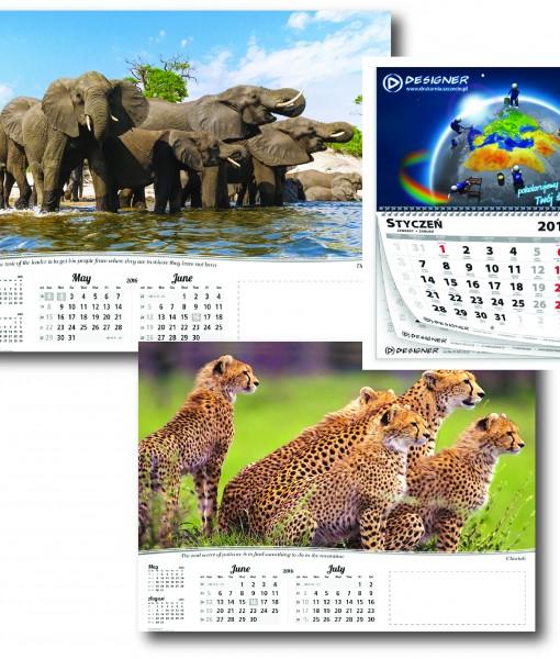 Multi Page Calendars