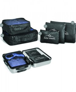 Pack-It Luggage Set - Black